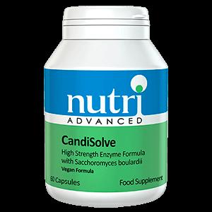 Candisolve complemento alimenticio enzima probiotico