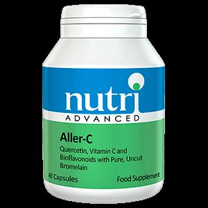 Aller C complemento alimenticio vitaminas y minerales