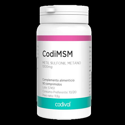 CodiMSM complemento alimenticio vitaminas y minerales