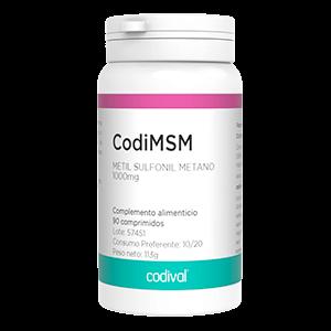 CodiMSM producto dietetico vitaminas y minerales