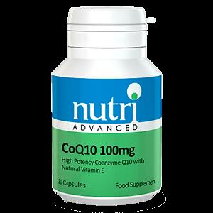 CoQ10 100mg complementos antioxidantes