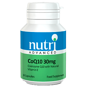CoQ10 30mg antioxidantes dieteticos
