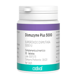 Dismuzyme Plus complemento alimenticio antioxidante
