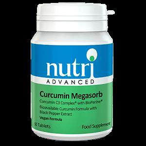 Curcumin Megasorb plantas fitonutrientes