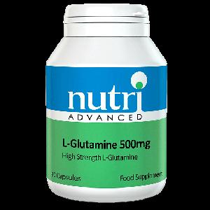 L-Glutamine producto dietetico aminoacidos