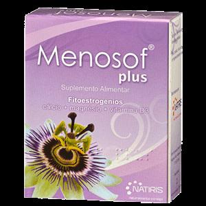 MENOSOF PLUS Fitoestrogenos Calcio Magnesio Vitamina D3