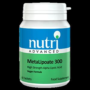 METALIPOATE 300 acido Alfa Lipoico