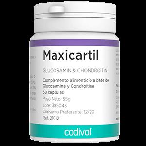 Maxicartil aminoacidos suplemento alimentario