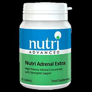 NUTRI ADRENAL EXTRA Concentrado Suprarrenal Vitaminas