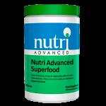 NUTRI ADVANCED SUPERFOOD Frutos Vegetales Antioxidantes Fibra Enzimas Bacterias Vivas