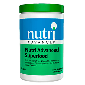 NUTRI ADVANCED SUPERFOOD Frutos Vegetales Antioxidantes Fibra Enzimas Bacterias Vivas