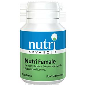 NUTRI FEMALE Concentrado de Ovario Vitaminas Minerales