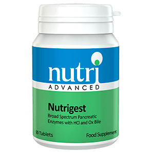 NUTRIGEST Enzimas Digestivas acido Clorhidrico