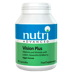 VISION PLUS Vitaminas Minerales Luteina Zeaxantina Arandano
