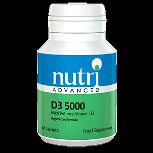 D3-5000 60tb vitaminas y minerales
