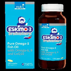 Eskimo Brainsharp 120cps complemento alimenticio acidos grasos