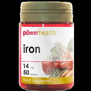 Iron 50tb vitaminas minerales