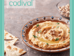 receta vegana de hummus casero
