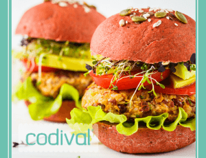 como hacer hamburguesa casera vegana