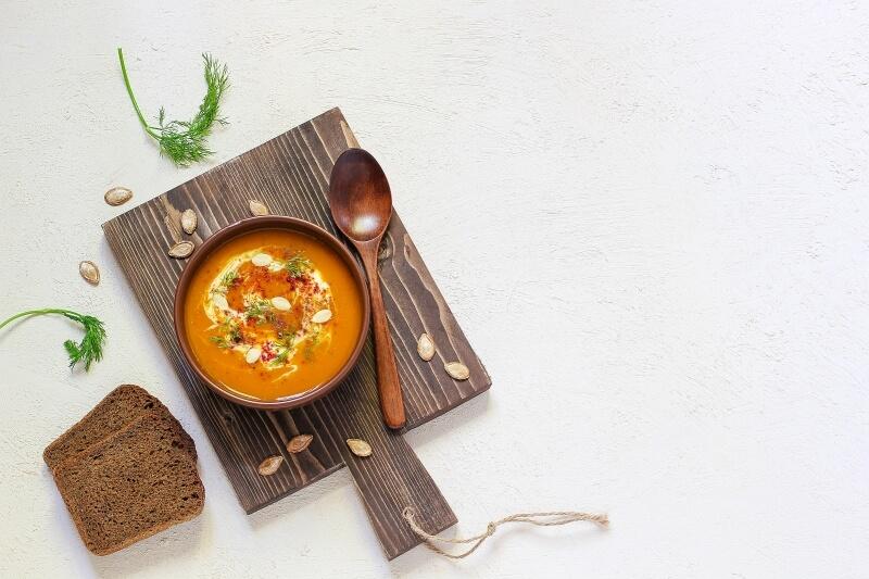 crema de zanahoria al curry thermomix