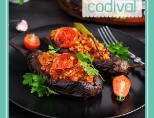 receta berenjenas rellenas de carne elaboracion