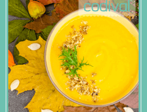 receta crema de zanahoria al romero