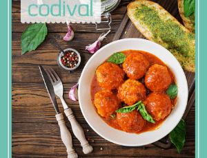 receta vegetariana albondigas en salsa