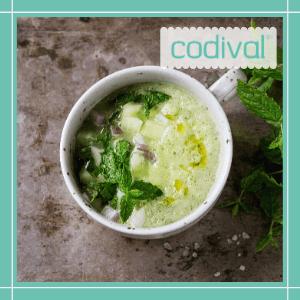 receta saludable gazpacho de aguacate