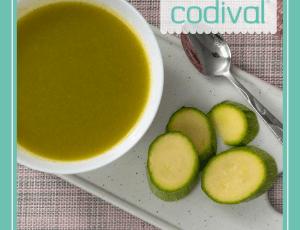 receta crema de calabacin baja en calorias