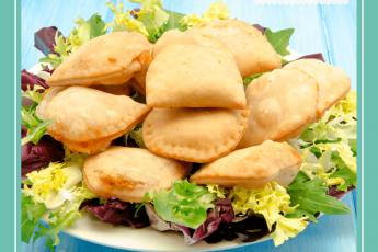 empanadillas veganas a la bolonesa