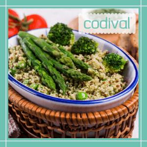 receta bowl de quinoa con verduras