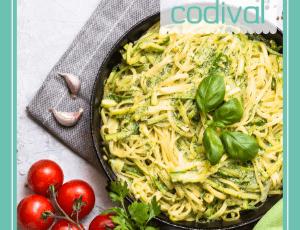receta espaguetis de calabacin