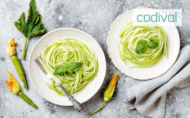 recetas con esperilizador espaguetis calabacin