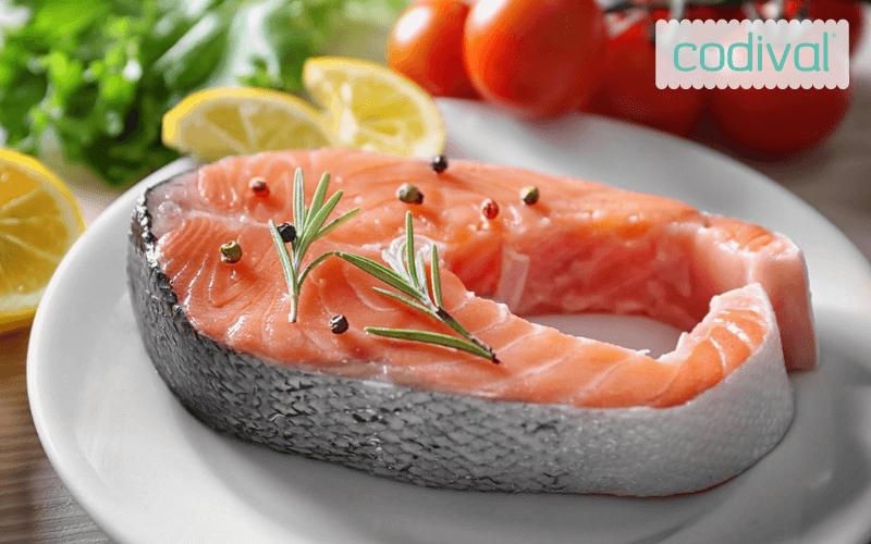 como se hace salmon al horno con verduras