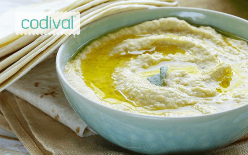 ingredientes hummus berenjena