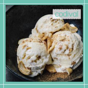 receta helado de vainilla vegano