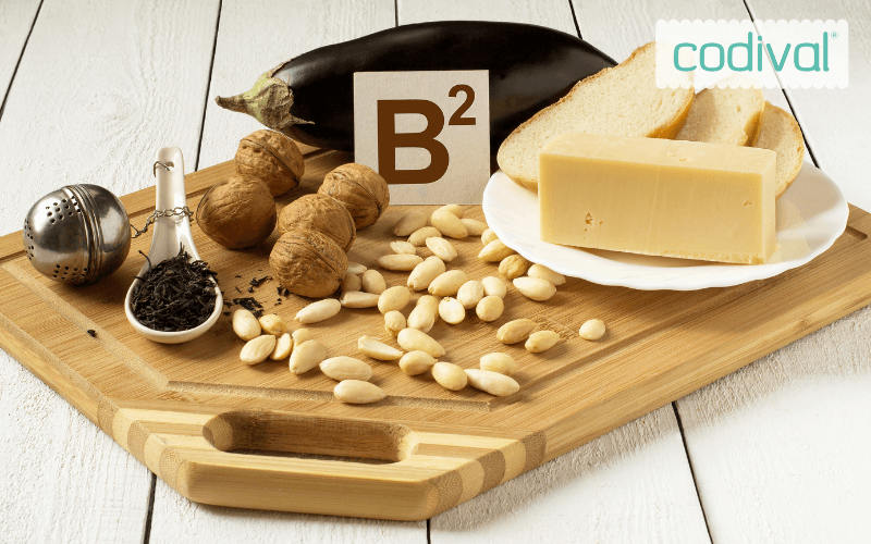 alimentos vitamina b2