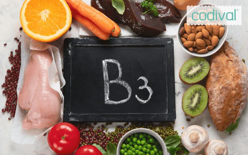 funciones vitamina b3